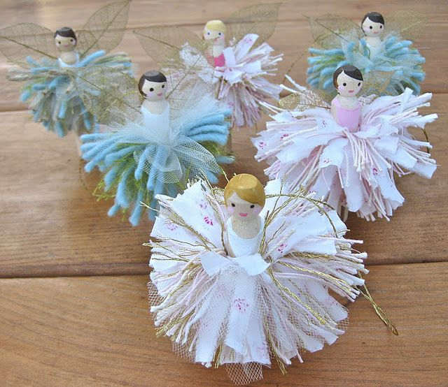 perhaps the beginnings of a Nutcracker-inspired ornament set?