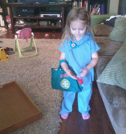 art threads wednesday sewing toddler doctor costume - Kids Doctor Halloween Costume