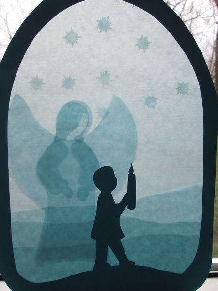 Fensterbild,Kommunion,Junge,Waldorf,Transparent von Puppenprofi auf DaWanda.com