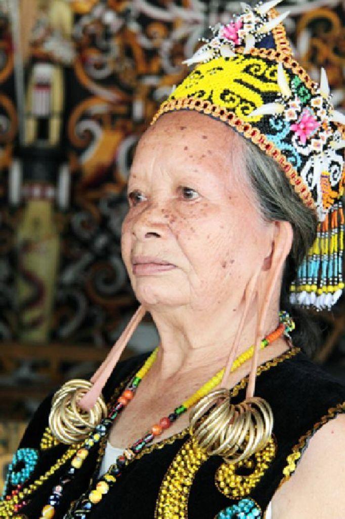Pampang, Kenyah Dayak, Indonesia, Kalimantan