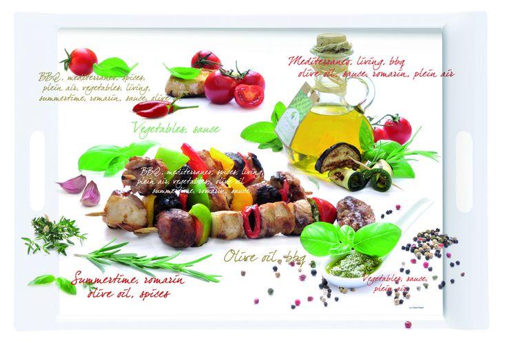 Taca prostokątna z melaminy || #tray #decosalon #kitchenaccessories