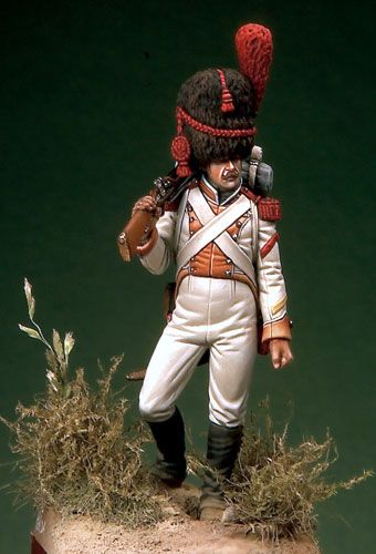 Grenadier of Line Infantry - Reign of Naples (1815-20)