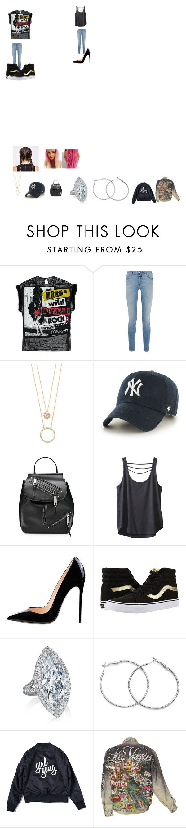 """Los vages tour outfits"" by jordan-summers ❤ liked on Polyvore featuring Givenchy, Kate Spade, '47 Brand, Marc Jacobs, Kavu, Vans and Ultimate"