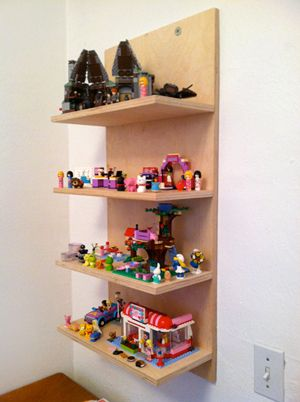 Need to make some of these for display in the boys' room - even though most of the Legos will stay in the playroom
