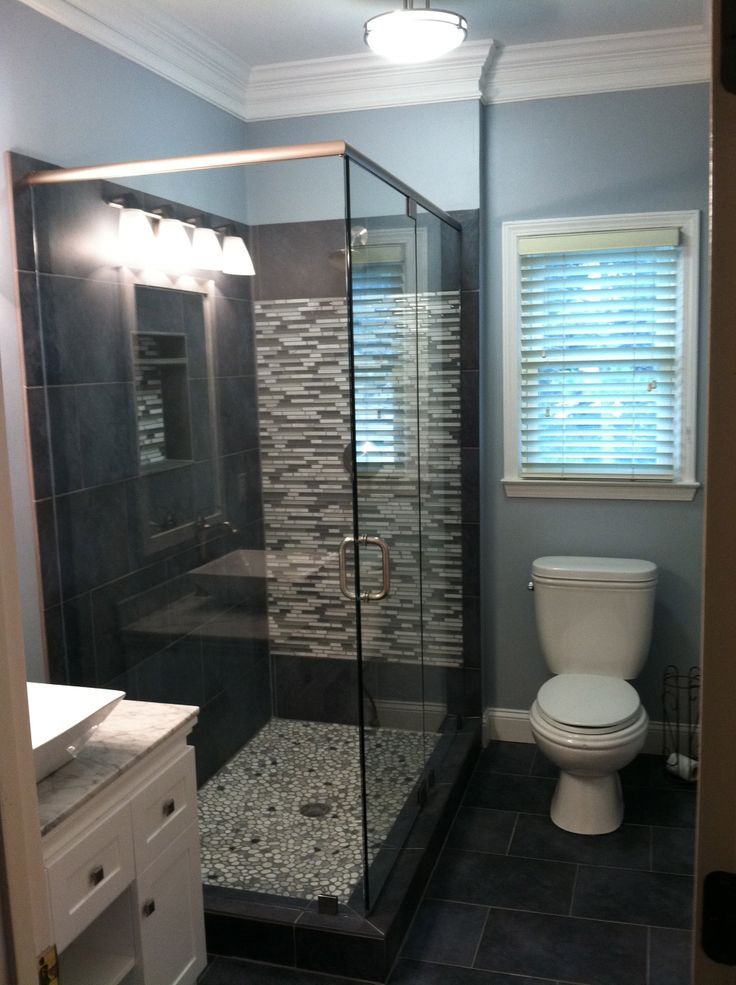 Small Bath Complete Master Bathroom Projects Pinterest