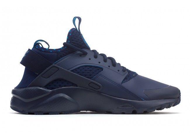 b87def98c58b Nike Huarache Run Ultra SE Mens Running Shoes Obsidian Blue Mult Size 875841 -400