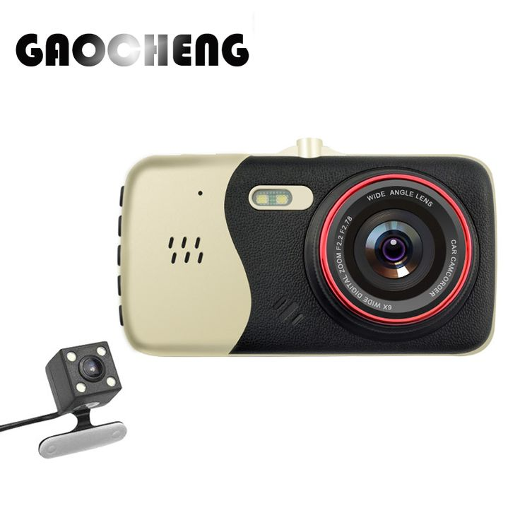 Asli 4.0 96658 IPS Layar Novatek Mobil Kamera Dengan Kamera Spion penuh HD1080P Mobil Dvr Recorder 170 Derajat Mobil Dvr Dash Cam