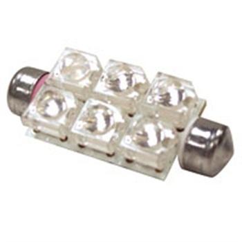 Decolume system Festoon LED lamp, 1.2W/12V 6pc  Regular price: $18.99  Sale price: $12.99