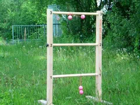 Leitergolf Bauanleitung zum selber bauen