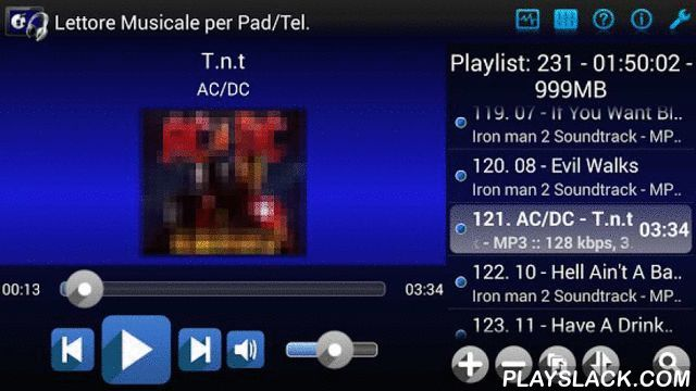 Music Player For Pad/Phone  Android App - playslack.com , New music player also suitable for tablet with Android Honeycomb 3.0 or higher.With this player you can create playlists and organize your folders by simply taking your phone or tablet without using the annoying system scan. You choose what to listen to without getting lost in the extensive research of your songs.*** The features are numerous, including ***- Formats supported: MP3, WAV, OGG, MID, MP4, M4A, 3GP, FLAC, AAC and some WMA…