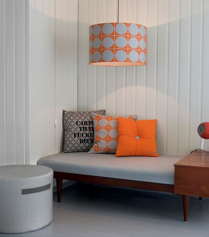 Funky Doris – a New Norwegian interior concept #textile #textiledesign