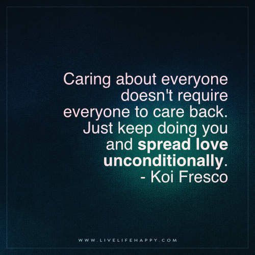 Caring About Everyone Doesn't Require Everyone
