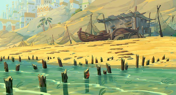 Animation backgrounds 2 on Behance