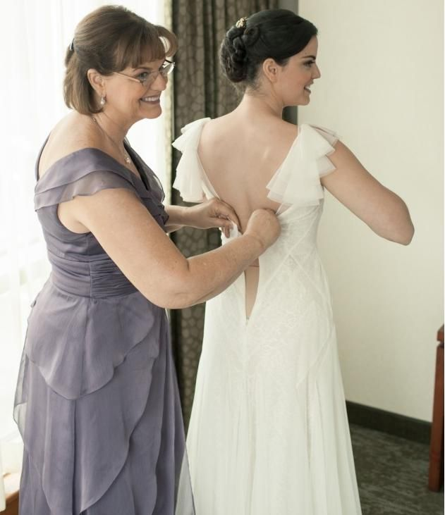 What To Wear Under Your Wedding Gown Real Advice From Brides Bra Fitters Linda The Lady