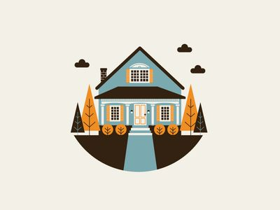 Happy House #vector