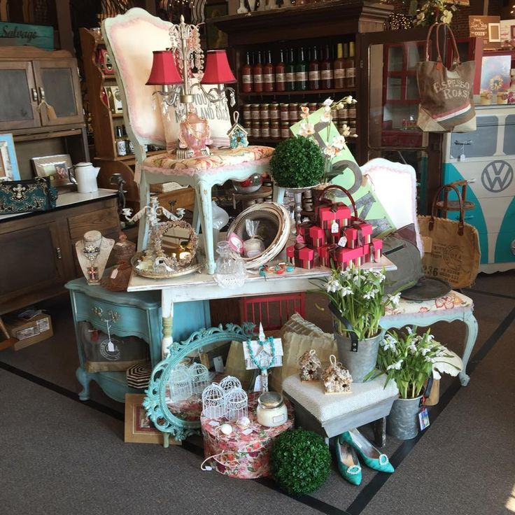The Vintage Market On Church Street Visual Merchandising Retail Store Display Home Accessories