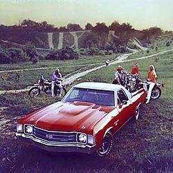 dream car. #vintage #elcamino