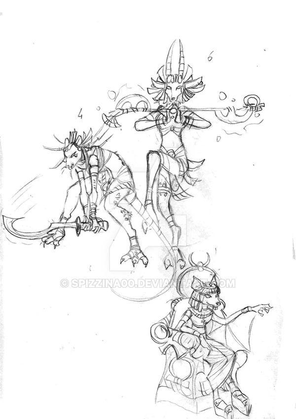 Planet Inb Priestesses of grade 4 and 6 with their weapons for defense and under Meb queen on her throne :XD: ------------- Pianeta Inb Sacerdotesse di grado 4 e 6 con le loro armi per la difesa e sotto la regina Meb sul suo trono :XD: