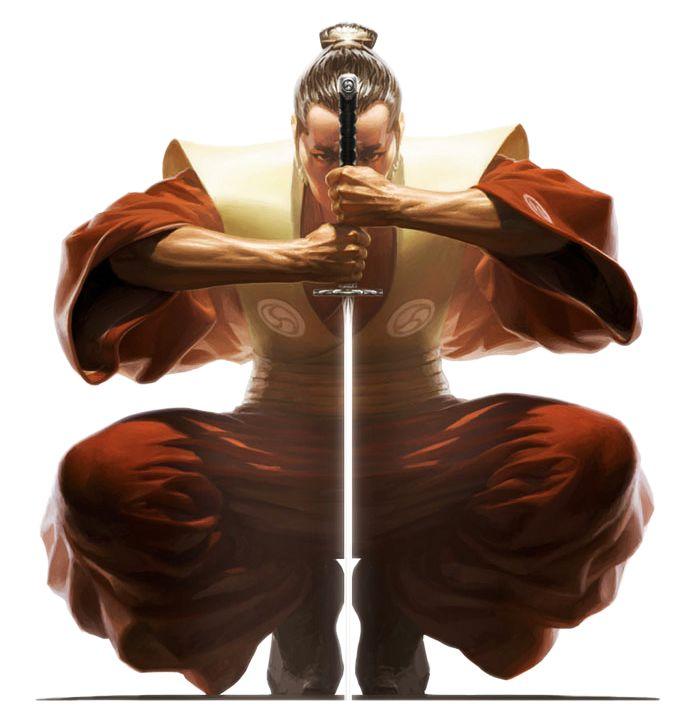 Image result for samurai meditate