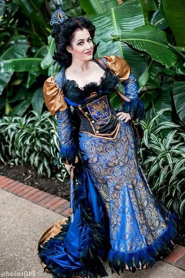 Well, this Ravenclaw Steampunk Cosplay is just about one of the best things I've even seen.