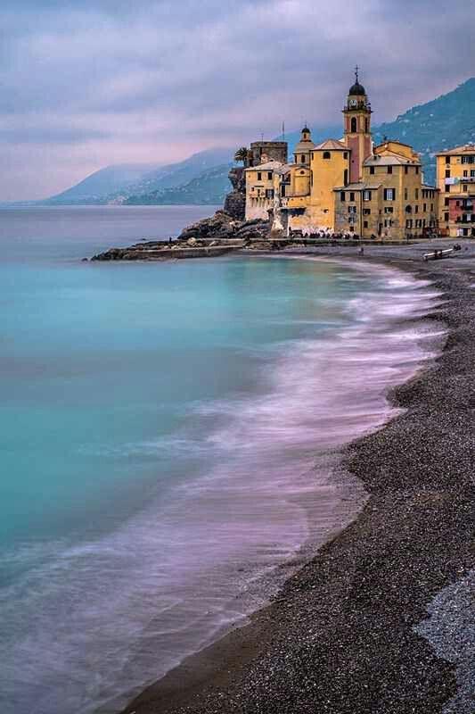 Italian coast: Camogli near Genova | |retreats ...