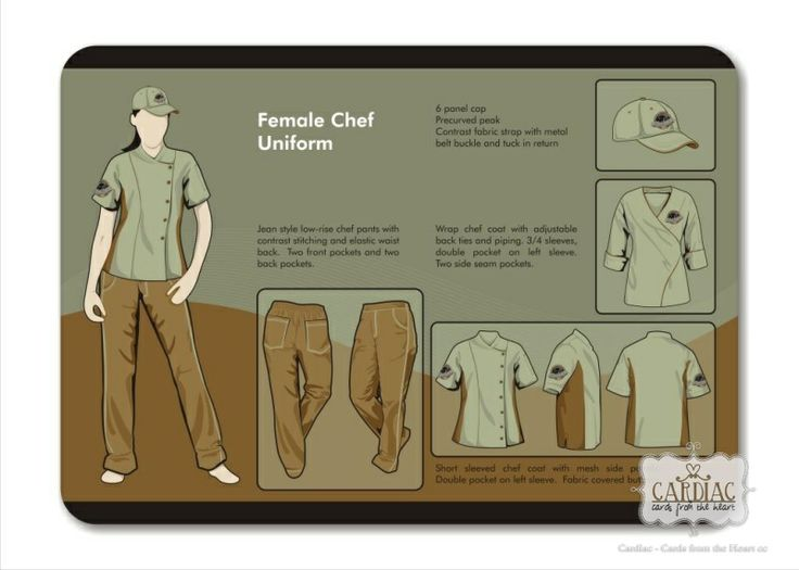 Chef uniform design