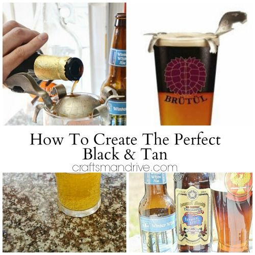 The Black & Tan Turtle :: Allows You To Layer Two Beers In The Same Glass