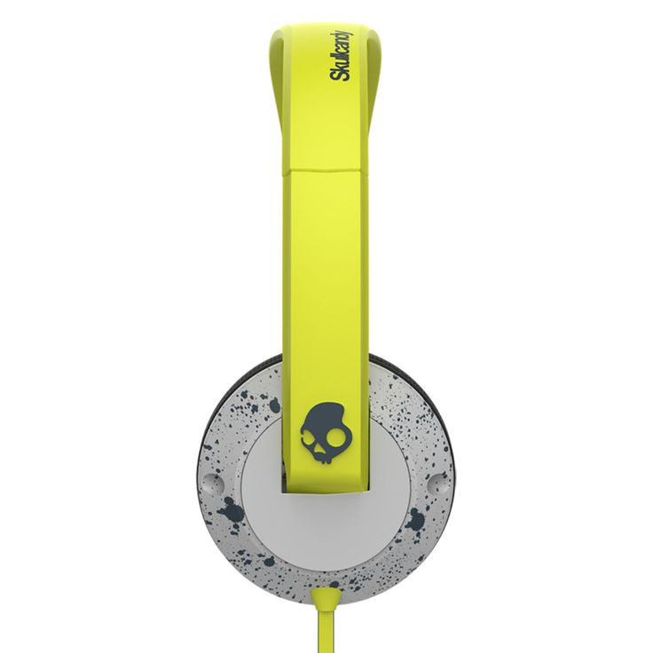 Skullcandy - Uprock 2.0 lime/harmaa kuulokkeet #lahjaidea