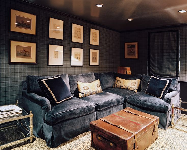 Rooms to watch the Super Bowl in   Lonny.com