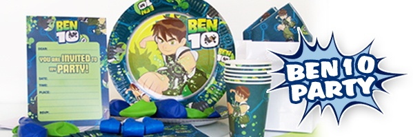 Ben 10 Themed Party