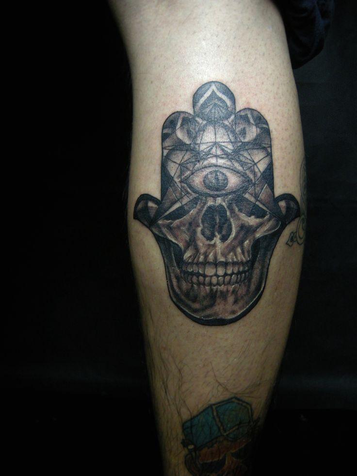 Hamza Hand Tattoo Fatima Hand Tattoo