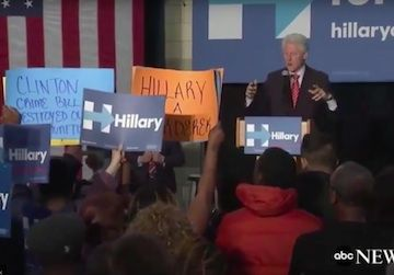 Bill Clinton, Black Lives Matter Protesters Clash Over Hillary's Support of His 1994 Crime Bill - Truthdig