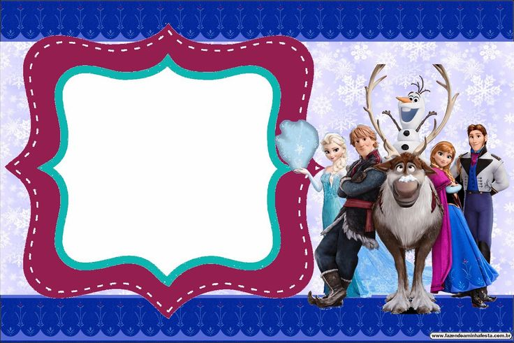 Cute Frozen Party: Free Printable Invitations. - Is it for PARTIES ...