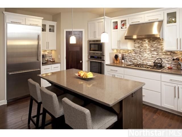 Lovely Granite Island, Countertops And Stainess Steel Appliances. Design  KitchenContemporary KitchensIslandSweetDesign ...