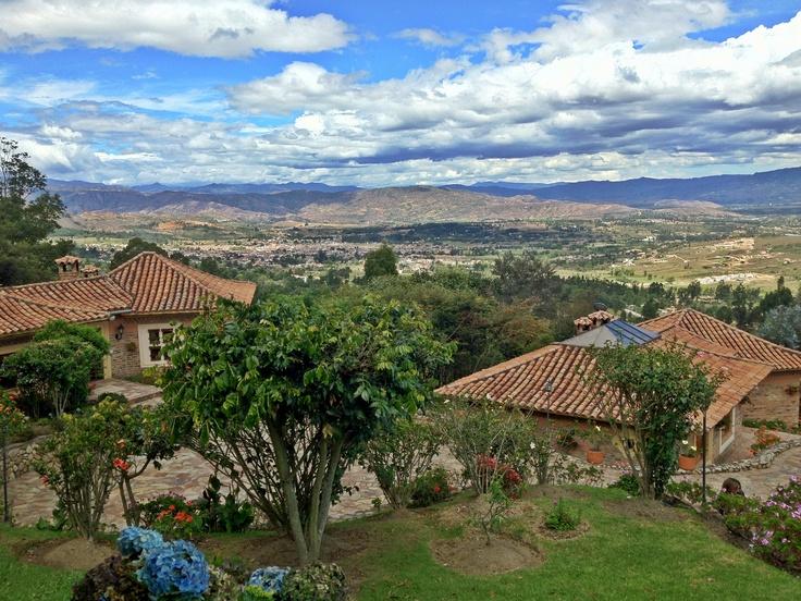 Desde la montaña (Villa de Leyva).