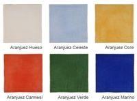 Faience rustique brillante ARANJUEZ coloris au choix 20x20 cm - As de carreaux