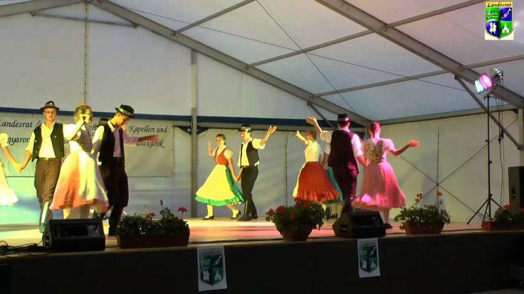 IV. Landesjugendtreffen Tanzgruppe aus PUßTAWAM  Tarian 2014