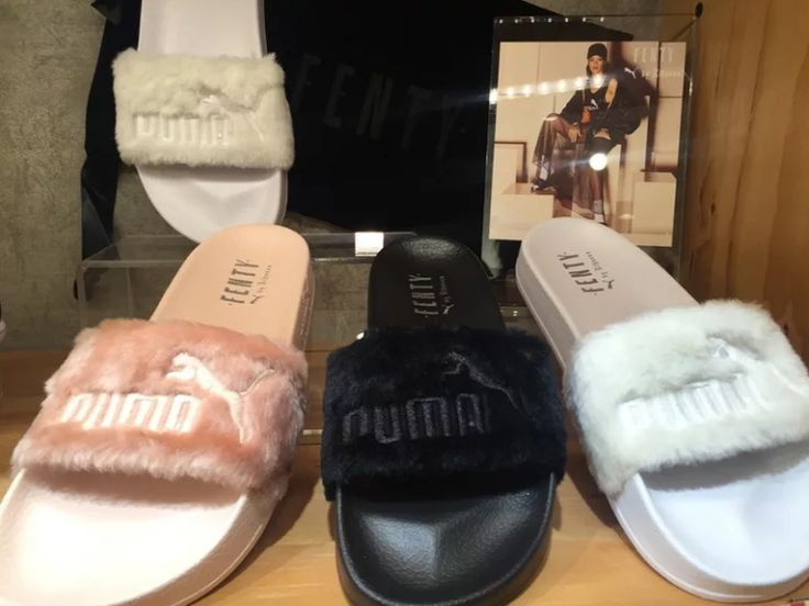fenty puma slides mens