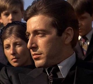 Al Pacino in Godfather II: Godfather Pacino, Al Pacino, Alpacino, Michael Corleon, Godfather 1972, Godfather Movie, The Godfather, Robert Duval, Favorite Movie