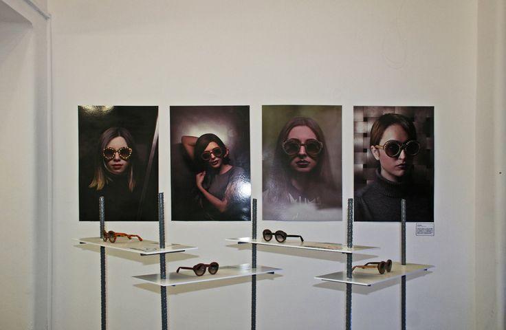 Rota Dentata Exhibition Handmade eyewear and stuff #exhibition #handmade #wood #woodensunglasses #sunglasses