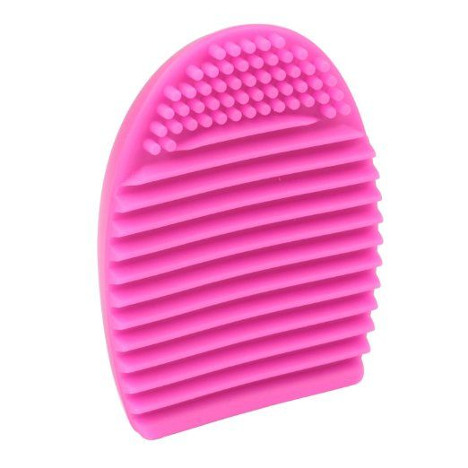Amazon.com : Cityvivo Cosmetic Makeup Brush Finger Glove Silicone Scrubber Board Hand Cleaning Tools : Beauty