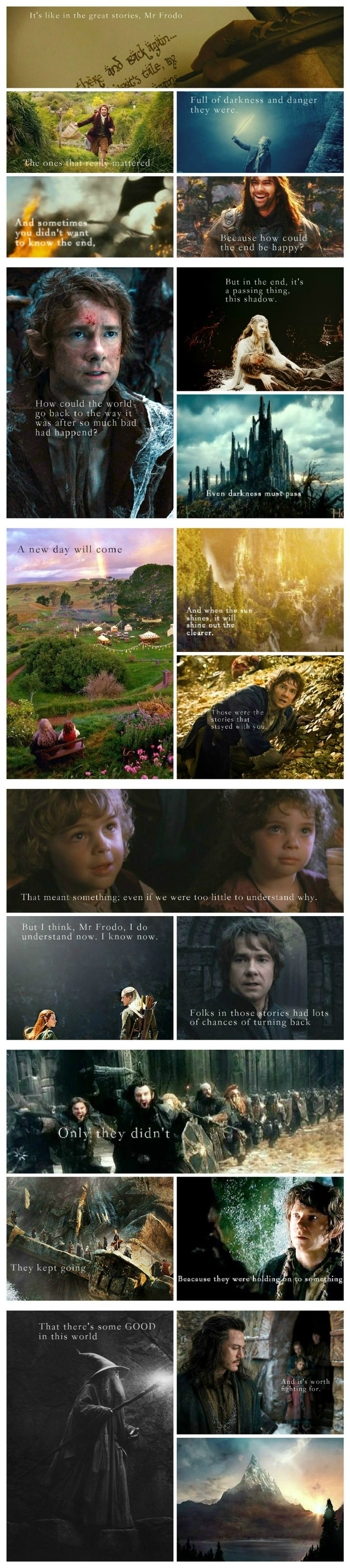 It's like in the great stories... {this is my first hobbit/lotr related edit :)}