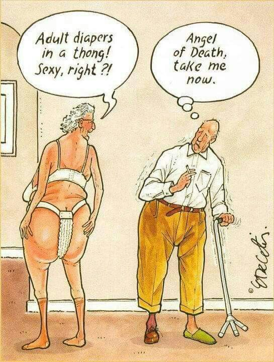 Old age humor                                                       …