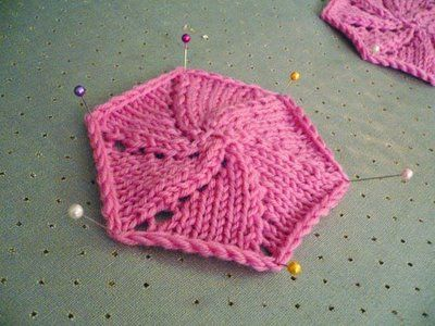 Tutorial – Spiral Knitting for Hexagons and Octagons « Cotton and Cloud