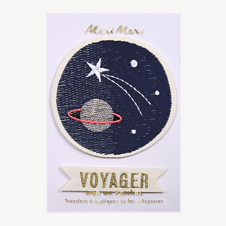"""Meri Meri """"Space Voyager"""" Flicken zum Aufbügeln"""
