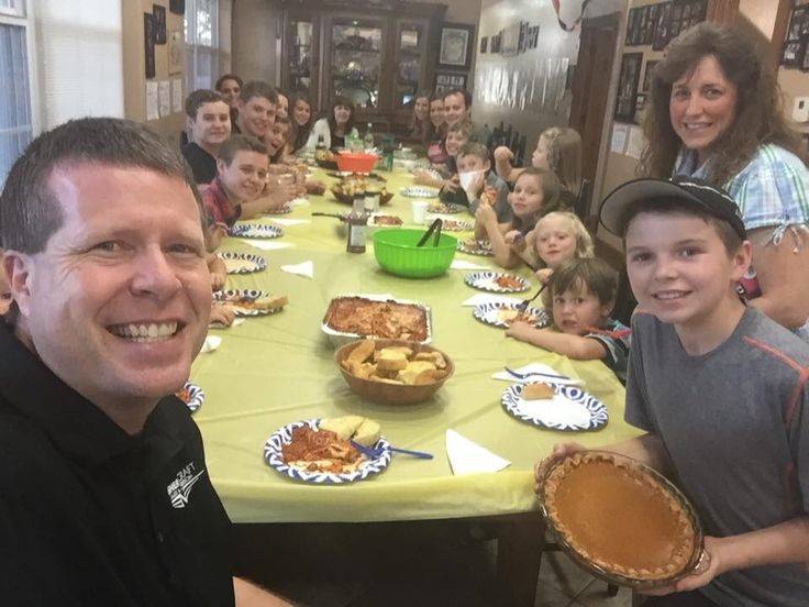 Father's Day lunch yesterday, Need to exercise today!   Source: duggar family official fb