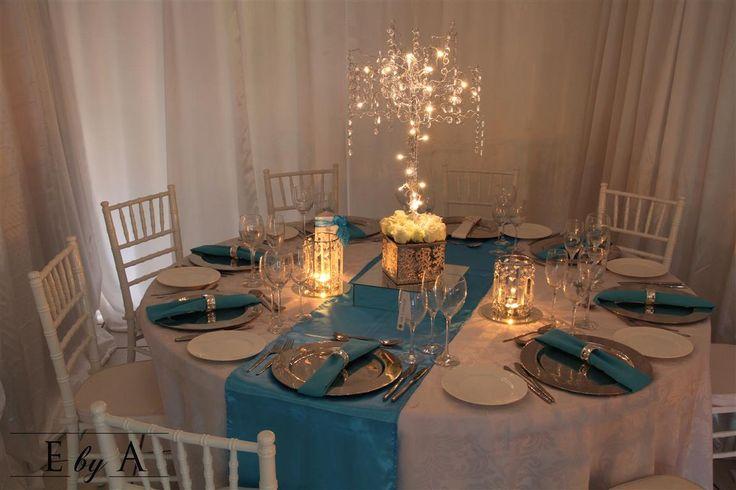 Silver Crystal Tree with Fairy Lights - anne@ebya.co.za