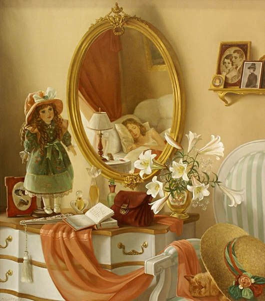 Tatiana Deriy (1973, Russian) Marvellous dream