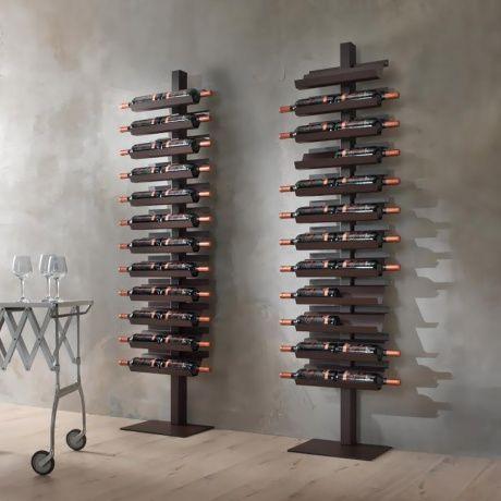 Wonderlijk De mooiste wijnrekken in huis | ^style^ - Wijn kamers, Wijnkelder MW-28