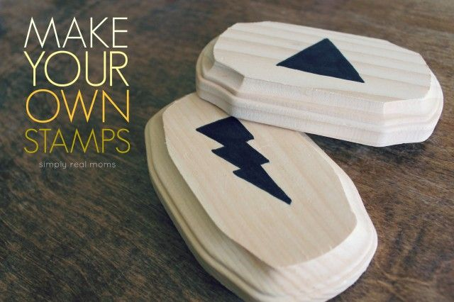 Make Your Own Stamps! So easy and only about $0.40 EACH!
